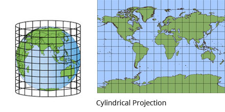 CYLINDRICAL MAP PROJECTION EPUB