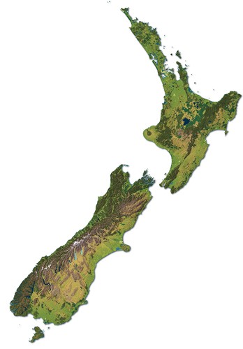 3d Map Of New Zealand.What We Do Geographx